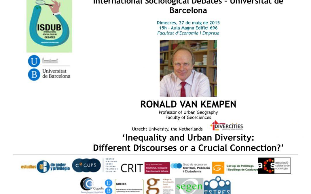 Cicle de conferències ISDUB