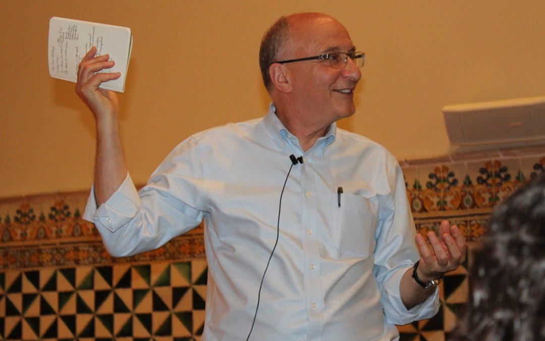 Conferència de John Willinsky, professor de Stanford University i promotor de Public Knowledge Project