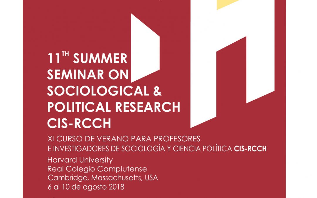11th Seminar on Sociological & Political Research CIS-RCCH