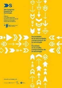 Data límit d'enviament de propostes al XIIIè Congrés Espanyol de Sociologia