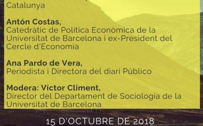 Xerrada-Debat: Catalunya-Espanya: L'encaix és possible? 15 d'octubre 18.30h Sala Prat de la Riba