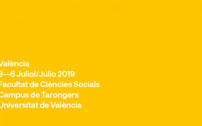 XIIIè Congrés Espanyol de Sociologia, València 3-6 juliol 2019