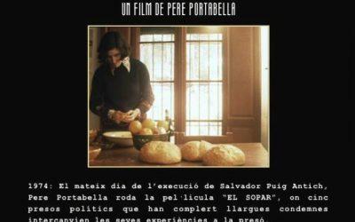 """Cinefòrum de """"El sopar"""" (1974) amb el director del documental Pere Portabella, 10 de desembre a la 13h a la Sala Cinema UAB"""