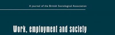 L'article. Household Employment and the Crisis in Europe, de Núria Sánchez-Mira i Jaqueline O'Reilly, publicat a Work, Employment and Society