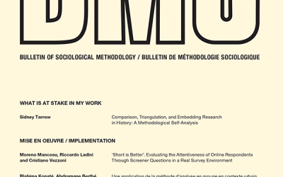 L'article. The Typological Paragon. A Methodological Proposal of Mixed Designs de Vanessa Alcaide, Sandra Fachelli i Pedro López-Roldán, publicat a Bulletin of Sociological Methodology